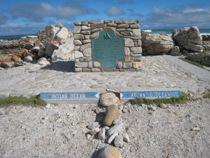Stand on the Southern-most tip of Africa