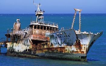 agulhass shipwreck 2
