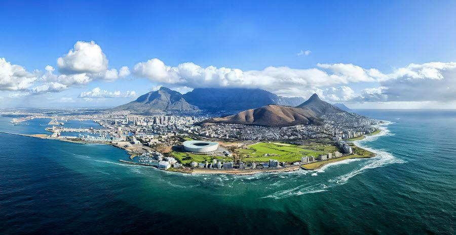 cape town above