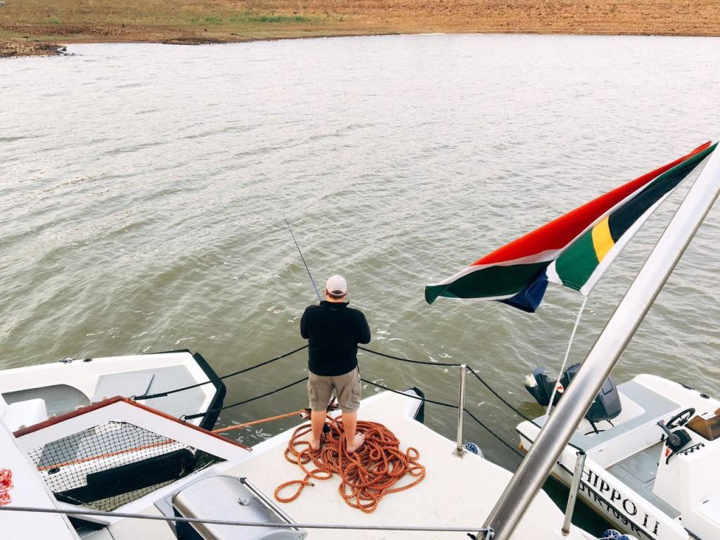 Tiger Fishing on Lake Jozini.