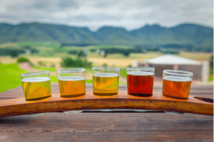 car-hire-cape-town-beer-tasting-selection-mountain-view -min