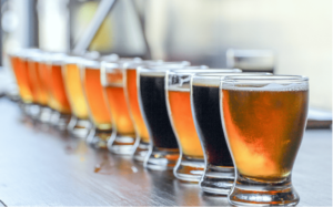 car-hire-cape-town-line-of-beers-tasting-min
