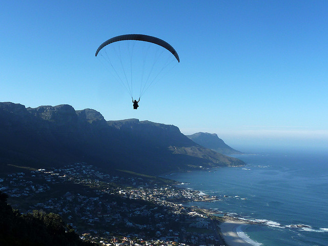 Cape Town Paraglider.