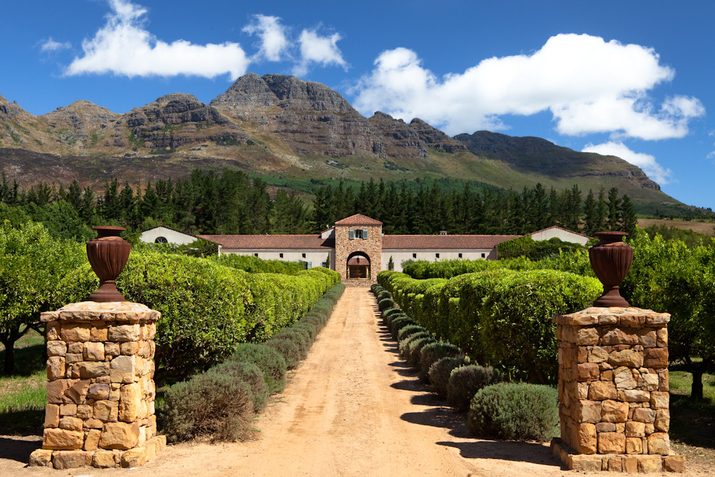 Top Wine Estates - Groot Constantia - Around About Cars