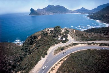 Chapman's Peak Drive View from Highest Point.