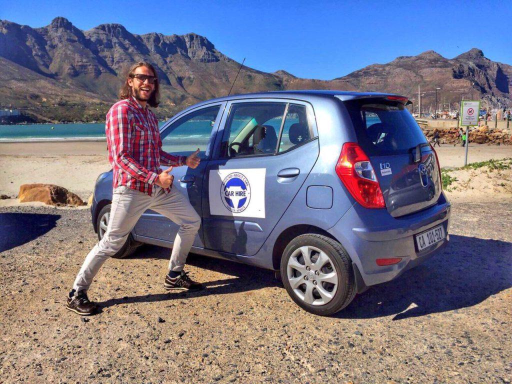 Nic Montemaggi from Iambassador going #AROUNDABOUTCT - Around About Cars
