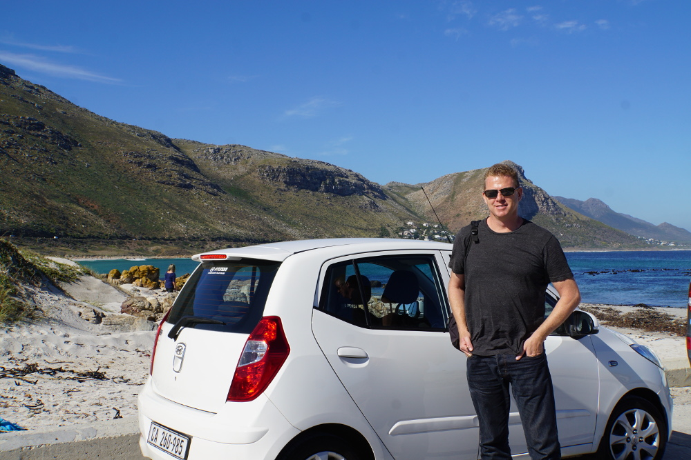 Sean from Venturist going #AROUNDABOUTCT - Around About Cars