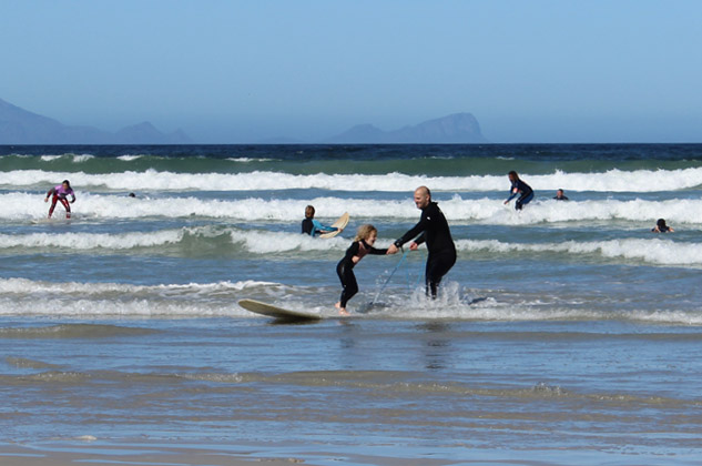 SURFING LESSONS - CAPE TOWN WITH KIDS - Around About Cars