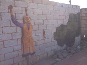 Art on Hector Pietersen Avenue.