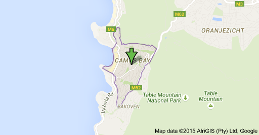 Camps Bay location.