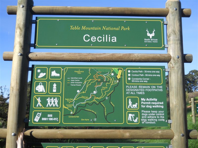 Table Mountain National Park - Cecelia Routes - Around About Cars