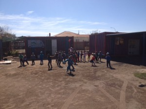 Creche we visited whilst on a walking tour in Soweto.