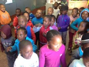 Creche in Soweto.