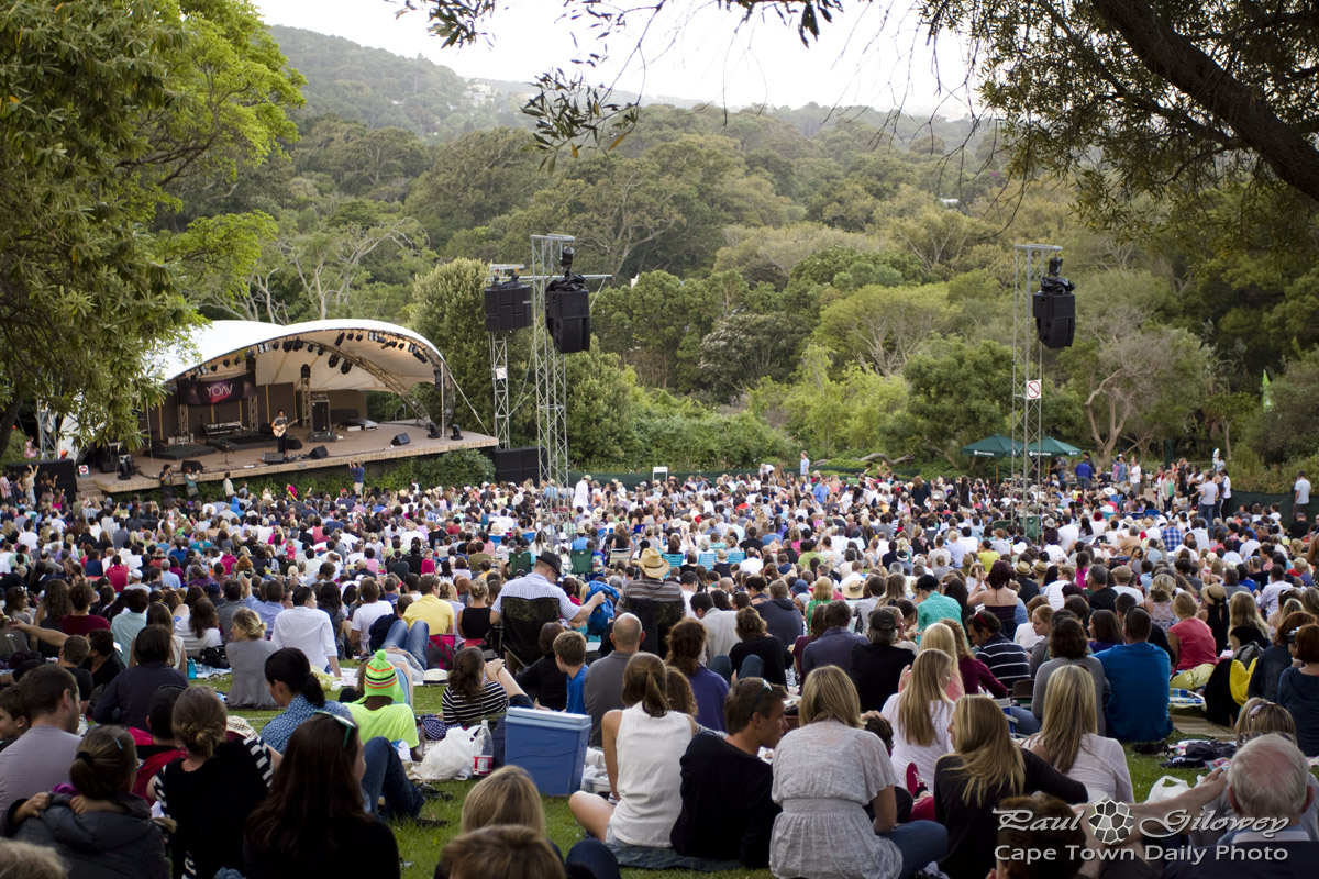 Kirstenbosch Summer Sunset Concert.