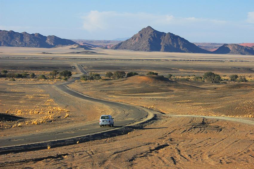 Namibia route.