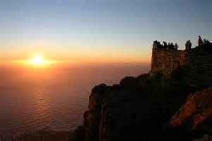 Sunset Table Mountain.