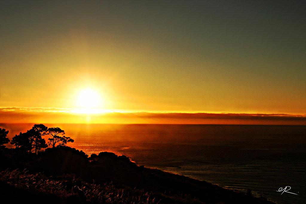 Sunset at Signal Hill.