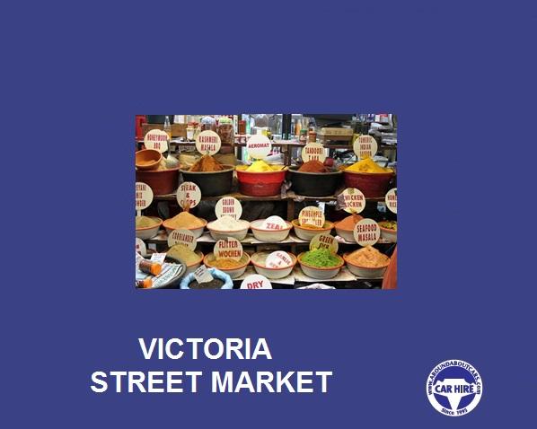 Victoria Street market.